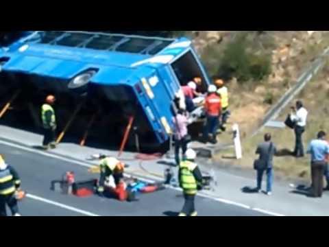Simulacro de acidente em Bombarral