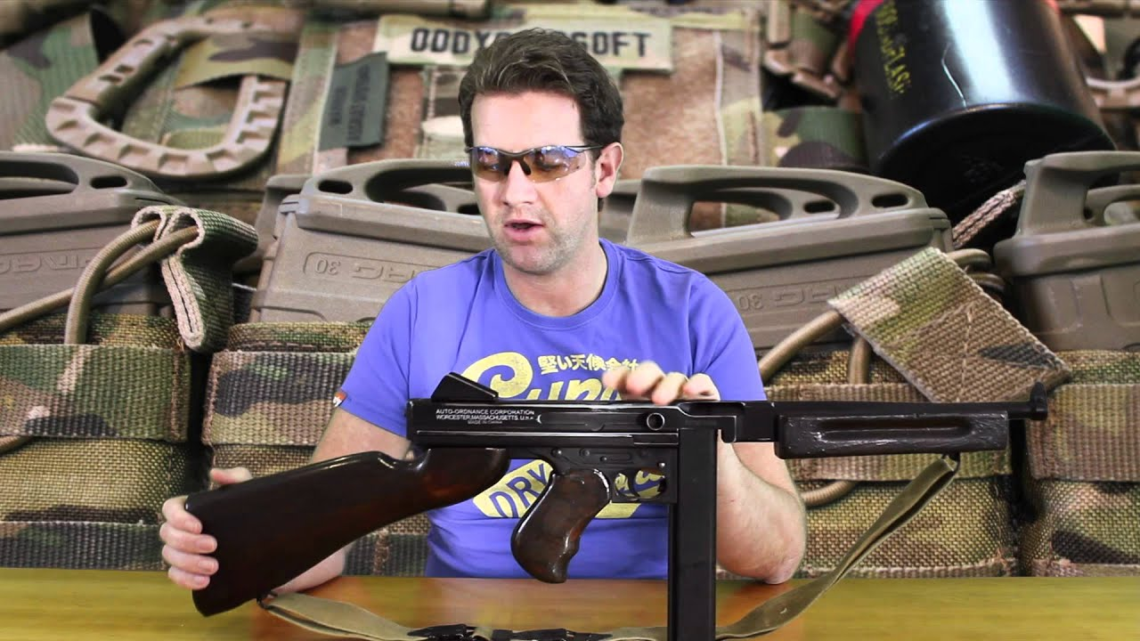Cybergun Thompson M1a1 8 4v Cybergun Thompson M1a1
