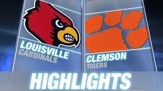 Louisville vs Clemson | 2014 ACC Football Highlights