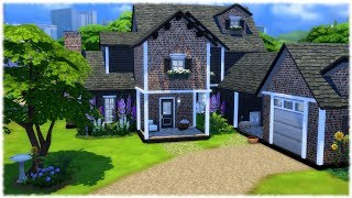 The Sims 4: Speed Build // LARGE FAMILY HOME // NO CC