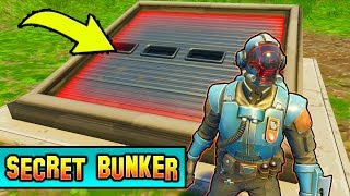 WILL THE BLOCKBUSTER OPEN SECRET BUNKER! *VISITOR* Fortnite Season 4 Story Line