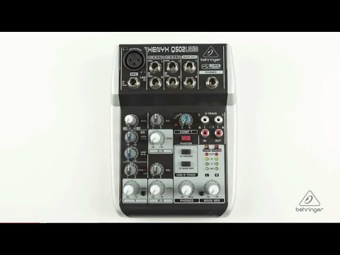 XENYX Q502USB Small Format Mixer & USB Audio Interface