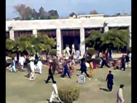 Agriculture University Peshawar fighting