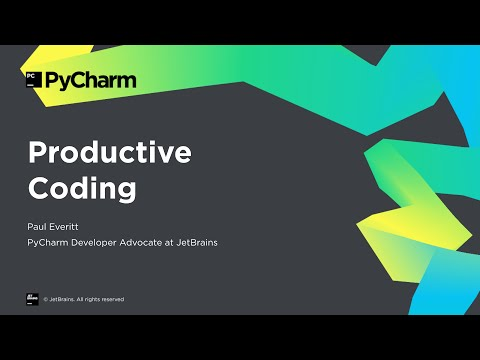 Getting Started with PyCharm 4/8: Productive Coding
