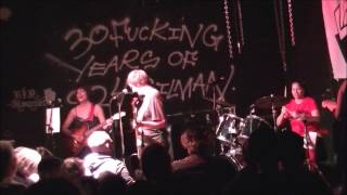 Kamala & the Karnivores live at 924 Gilman St, Berkeley, CA 1-1-17 (The Lookouting Night 1)