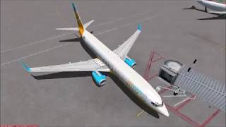 Crete to Athens in a Boeing 737 | Microsoft Flight Simulator X