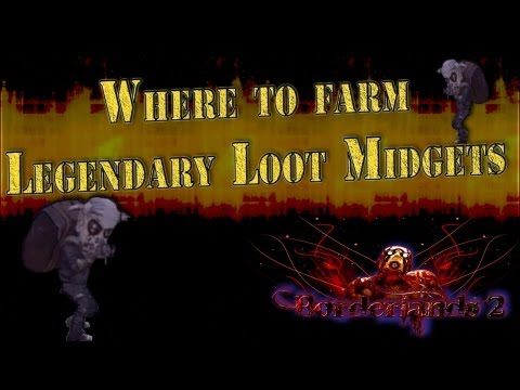 Borderlands 2 FAST Thousand Cuts Legendary Loot Midgets farming