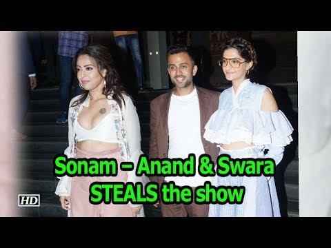 "Sonam – Anand & Swara STEALS the show | ""Veere Di Wedding"" Screening thumbnail"
