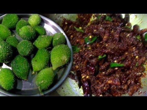 How to Make Boda Kakarakaya Pachadi Recipe in Telugu