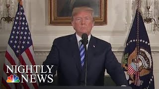 President Donald Trump Announces Withdrawal From Iran Nuclear Deal | NBC Nightly News