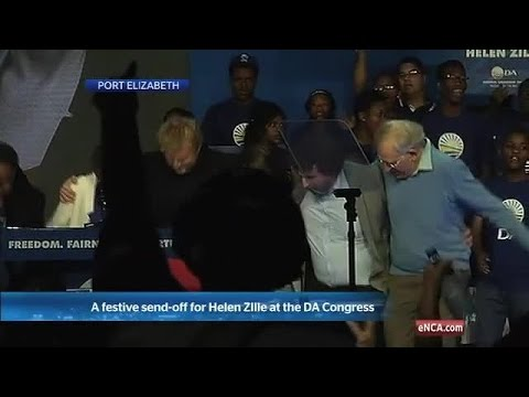 Helen Zille's final DA dance with her family