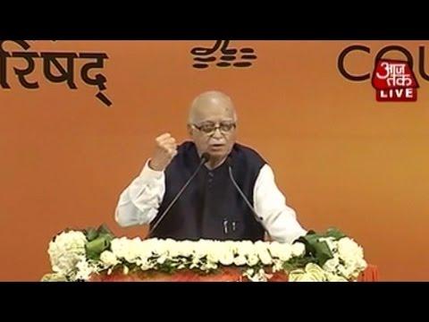 L K Advani's speech at BJP National Council Meet (Full)