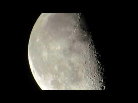 Видео как снимать Луну