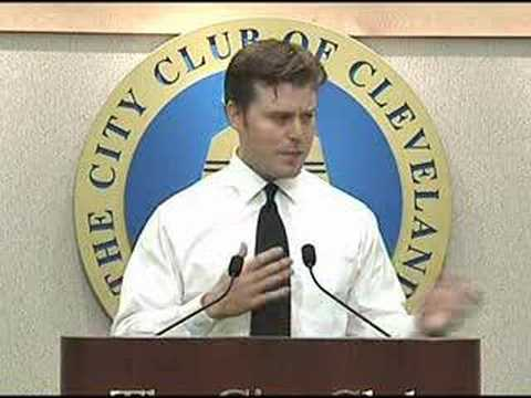Thurber & Kemp @ City Club of Cleveland 6-4-08 SPEECH PT2