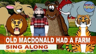Old MacDonald had a farm - Sing Along | Kids Songs