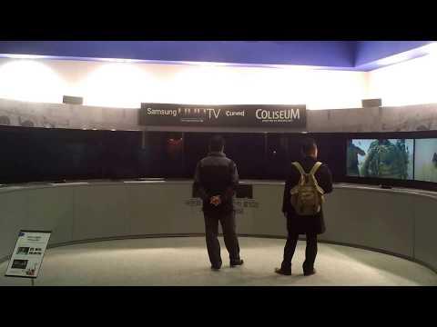 20140320 samsung UHD TV Coliseum -transformer
