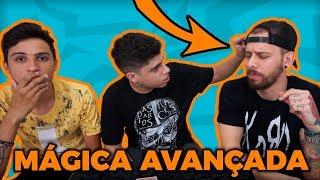 Tutorial de mágica PROFISSIONAL para BUGAR seus amigos - feat. Escolha Uma Carta e Rafael Arcanjo