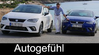 Seat Ibiza FULL REVIEW Style vs Excellence vs FR comparison test all-new neu 2018 - Autogefühl
