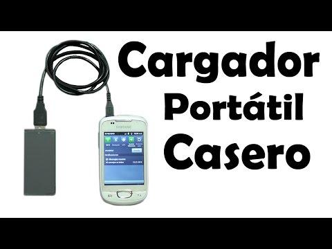 Cómo Hacer un Cargador USB Portátil - Muy fácil de hacer
