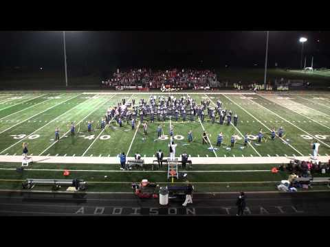 ATHS-2014-09-05-Addison Trail High School Marching Band-Halftime