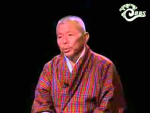 Druk Nyamrup Tshogpa's Vice President Jigme Zangpo speaks to BBS (Dzongkha)