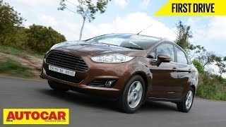 2014 Ford Fiesta Sedan Facelift | First Drive Video Review | Autocar India