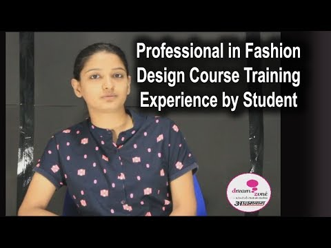 Professional in Fashion Design Training Experience by Student at DreamZone Alambagh