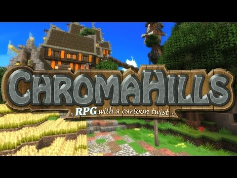 Chroma Hills: Texture Pack FULL Review - Minecraft