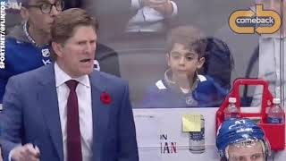 Very Mad Mike Babcock and Paul Maurice F-BOMBS at Refs