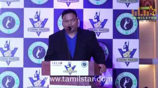 Prabhu Deva Launched V Chennai Warriors Tennis League Team