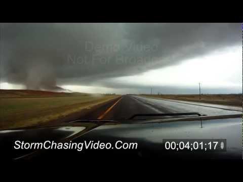 11/7/2011 Tipton, OK Tornado B-Roll Footage
