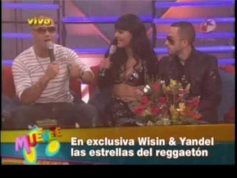 Wisin & Yandel en Muevete [Parte 3] (Entrevista por: Maribel Guardia y Latin Lover) (En Vivo) 2009