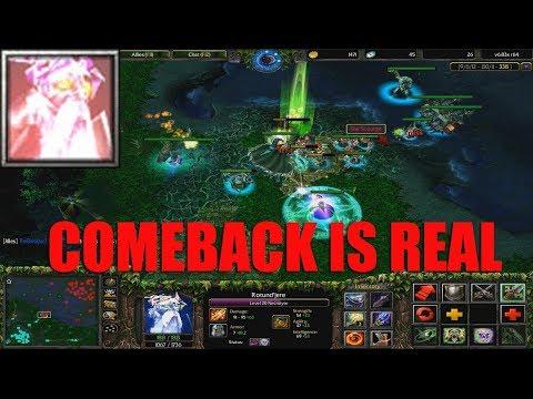 DOTA 1 - Necrolyte COMEBACK IS REAL | HARD GAME