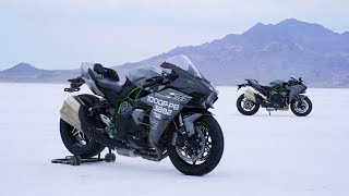 Ninja H2 | Kawasaki Team 38 Bonneville Record Attempt | Chapter 2
