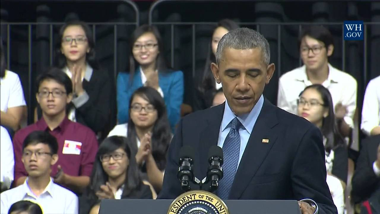 President Obama Holds a YSEALI Town Hall