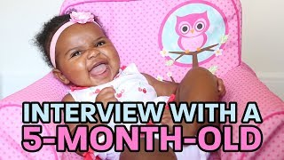 Interview With A 5-Month-Old | My Name Is Dada