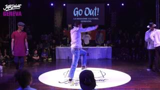 Popping Finał na Just Debout 2017 Geneva!