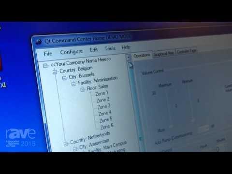 ISE 2015: Cambridge Sound Management Shows Off Qt Command Center Software Application