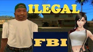 CJ Junior descarga cosas ilegales - GTA San Andreas Loquendo