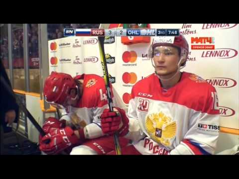 Nov 10, 2016 Super Series: Russia 4-3 OHL