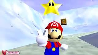 Bermain Game Super Mario 64 Dunia 10 dalam waktu kurang dari 5 menit