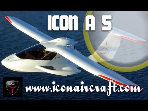 ICON Aircraft, ICON A5 spin resistant amphibious light-sport-aircraft.