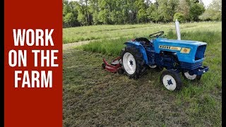 Work on the Farm - Suzue M1600 compact tractor