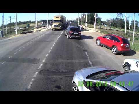 ДТП с ТП перед перездом