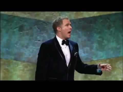 Will Ferrell Outrageous Acceptance Speech At The Mark Twain Comedy Awards 2011!