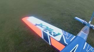 """Pilot rc 330 107""""  one wheel landing"""