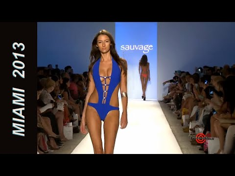 Sauvage - Mercedes-Benz Fashion Week Swim 2013 Runway Show SI top bikini models