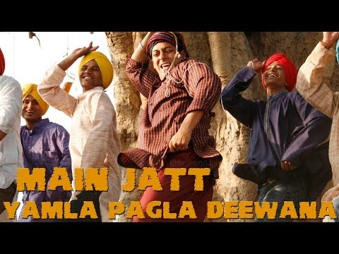 Mai Jat Yamla Pagla Deewana. video