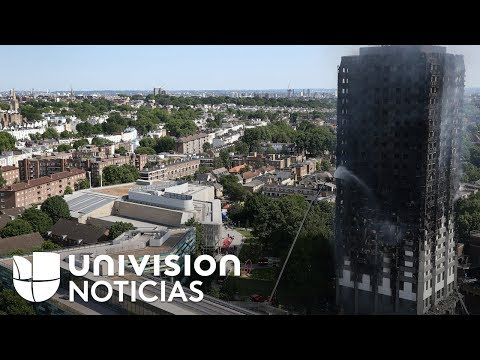 Al menos 12 muertos y más de 70 heridos en el incendio de un edificio en Londres
