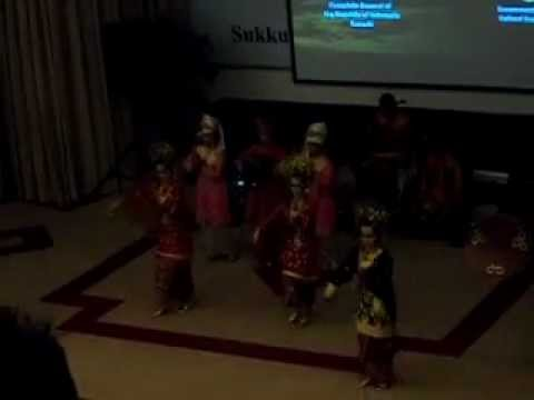 Iba Sukkur Pakistan Indonesian Joint Cultural Event Part 1 (welcome Dance 1) video